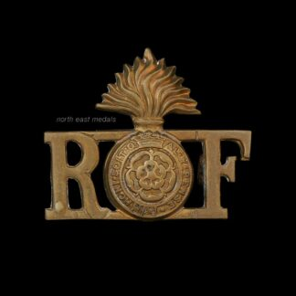 Royal Fusiliers Shoulder Title Badge