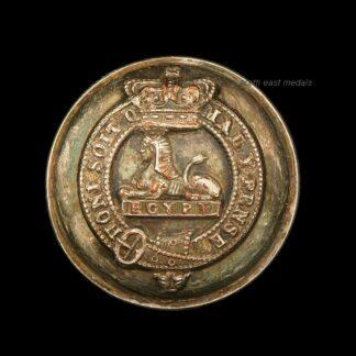 Victorian Manchester Regiment Officers Uniform Button
