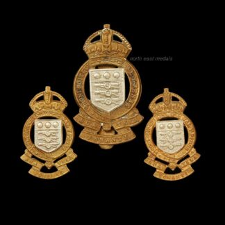 RAOC Royal Army Ordnance Corps Cap and Collar Badge Set
