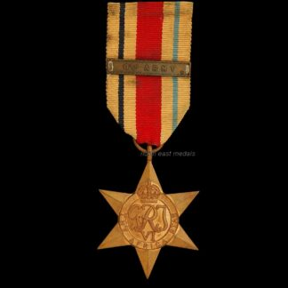 Africa Star Medal with 8th Army Ribbon Bar